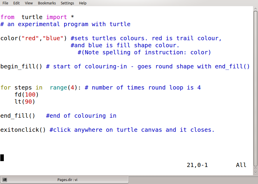 Entry 1: Turtle graphics 2 0 (Currently updating…) | ispython com
