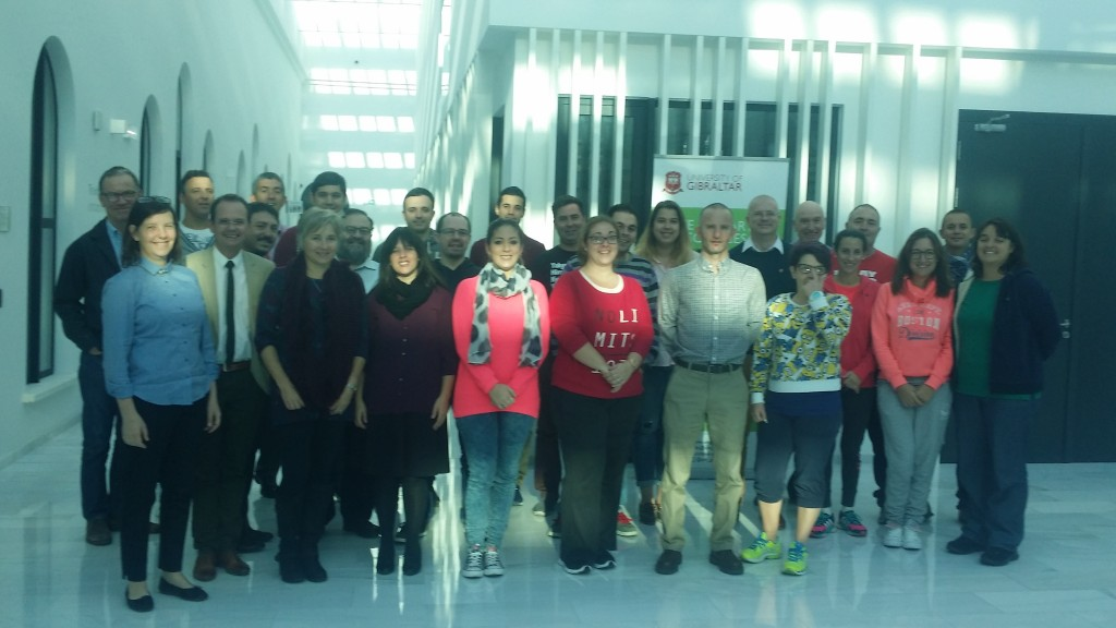 University of Gibraltar: First Cohort of Teachers in Computer Science --- November 2016